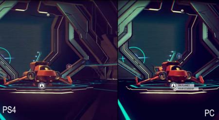 Compara tú mismo las diferencias de No Man's Sky en PC y PS4