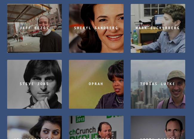 Descubre y reproduce las primeras entrevistas de Elon Musk, Steve Jobs y otros líderes tecnológicos