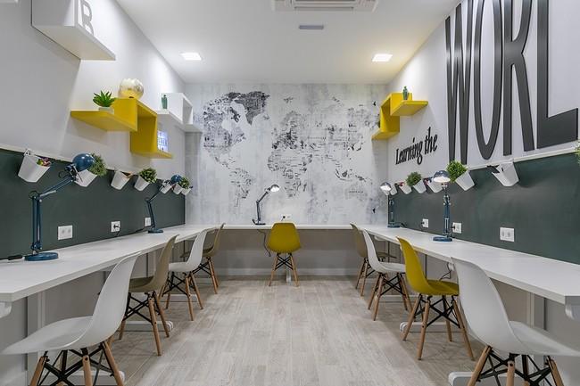 Una sala de estudio no tiene por qué ser aburrida, Vía Célere reinventa los espacios comunes