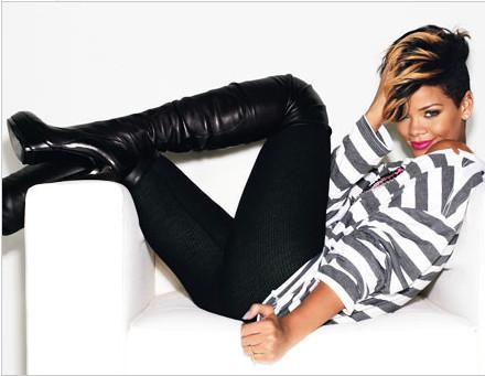 Foto de Rihanna, super sexy para Glamour Magazine (1/4)