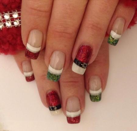 Nail Art Christmas 1
