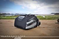 GIVI XS301, prueba de la bolsa sobre asiento