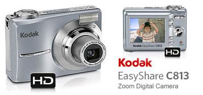 Kodak EasyShare C813, básica y barata