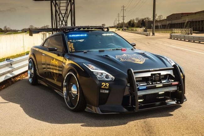 Copzilla, el Nissan GT-R que no verás más de tres segundos por tu retrovisor
