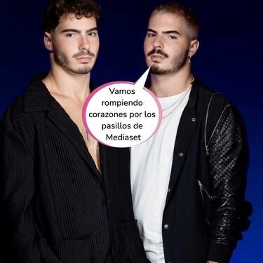 El currículum amoroso de 'Gemeliers': se enrollaron con media plantilla de Telecinco antes de entrar en 'Secret Story'