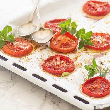 Tomates confitados al horno: receta
