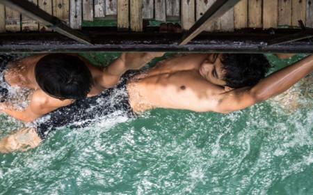 Rio Lomboc En Bohol Filipinas