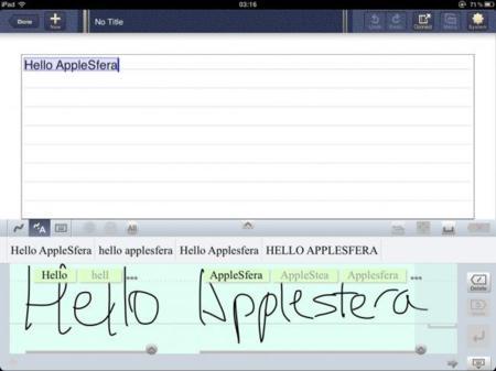 7notes HD Premium, excelente programa para tomar notas en el iPad: A Fondo