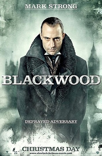 'Sherlock Holmes', carteles de Adler y Blackwood