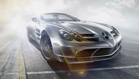 Mercedes-BenzSLRMcLarenRoadster722S