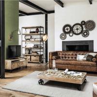 9 muebles y complementos para dar a tu casa un toque de estilo industrial