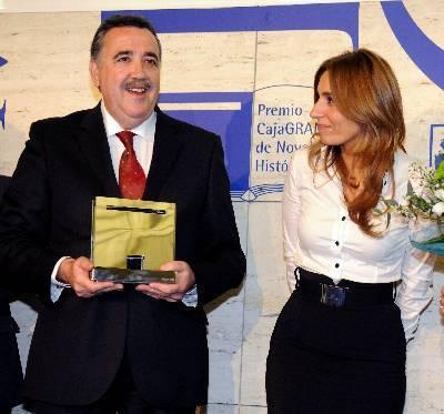 Jesús Maeso de la Torre gana el II Premio Caja Granada de Novela Histórica
