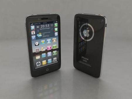 Apple iPhone 4G, interesante y colorido concepto