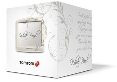 TomTom White Pearl, navegador diseñado para mujeres