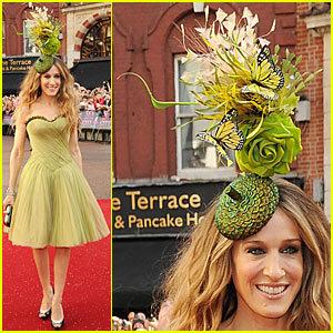 El loco sombrero de Sarah Jessica Parker