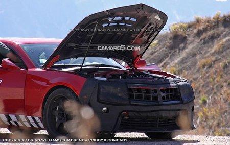 Capó del Chevrolet Camaro Z28
