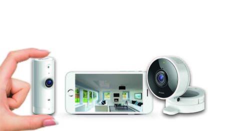 D-Link apuesta por cámaras IP compactas y controladas desde el móvil con los modelos DCS-8000LH y DCS-8100LH