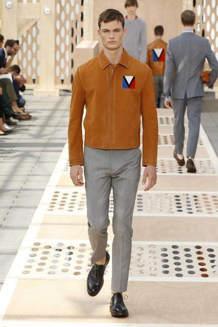 Louis Vuitton chauqeta piel