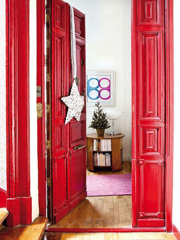 Moderna Puerta Roja 06