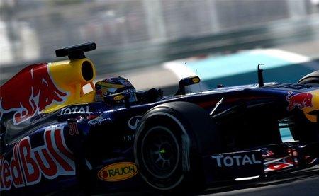Primer día de tests de jóvenes pilotos de Abu Dhabi con Jean-Eric Vergné en cabeza
