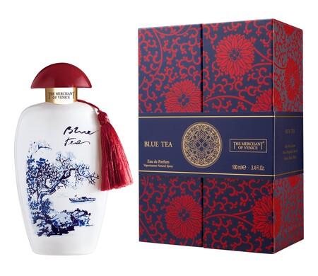 Diseno Femenino Blue Tea De Mercader De Venecia