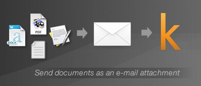 Enviar y convertir documentos por medio del correo electrónico