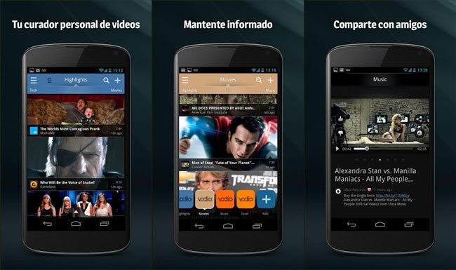 Vodio para Android