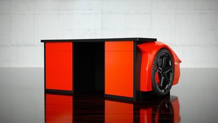 Mesa Lamborghini Aventador