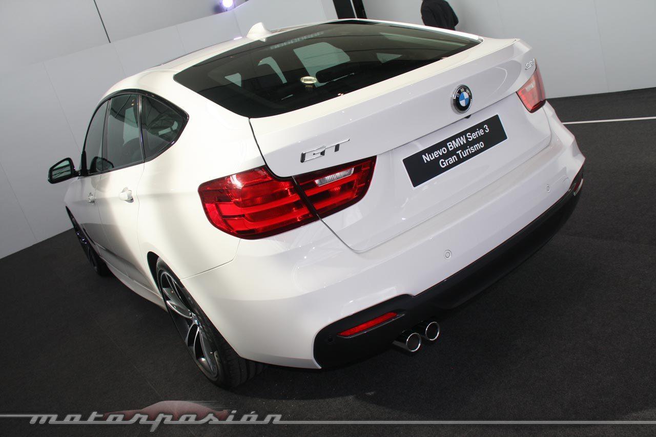 Foto de BMW Serie 3 GT (Presentación estática) (22/43)