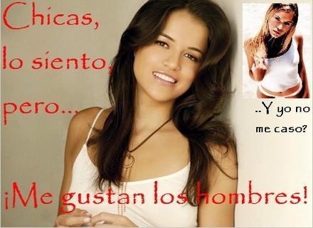 Michelle Rodríguez no es lesbiana, y se desfasa en su cumple