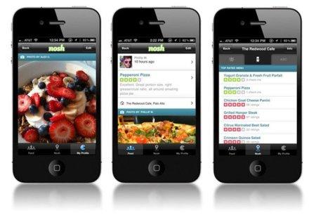 Nosh, un Foursquare gastronómico para IOS y Android