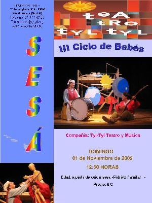Ciclo para bebés del teatro Tyl Tyl