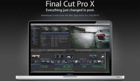 Final Cut Pro X, ¡ya disponible en la Mac App Store!