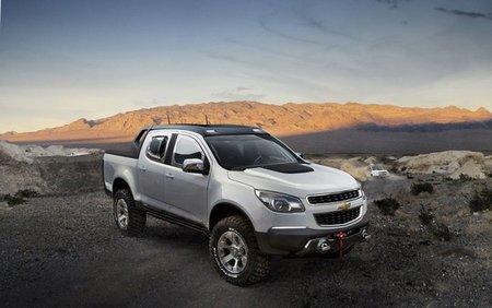 Chevrolet Colorado Rally Concept, mirando al Dakar 2012