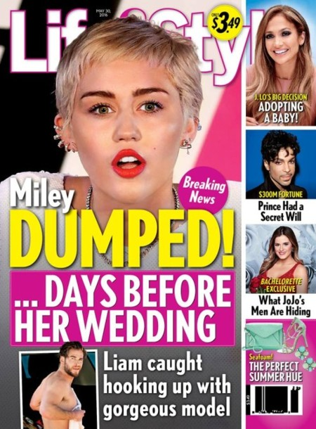 Miley Cyrus, ¡abandonada!