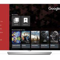 Google Play Movies deja la exclusividad de Android TV y llega a los televisores de LG