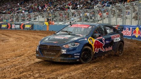 Naufragio del Global Rallycross Championship en Barcelona
