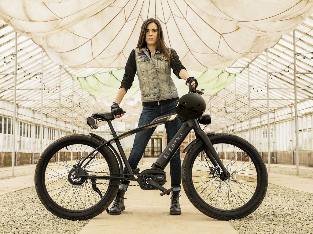 La Cafe Moto Go! engaña con su nombre: es una bicicleta eléctrica con aires de motocicleta