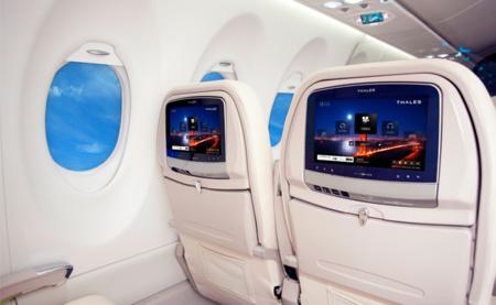 Boeing 787 Dreamliner integra Android como sistema de entretenimiento para sus viajeros