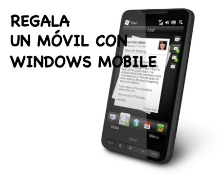 Ideas para regalar en Navidad: móviles con Windows Mobile