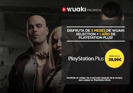 Vuelve la oferta: 1 año de PlayStation Plus + 3 meses de Wuaki Selection por 37,99 euros