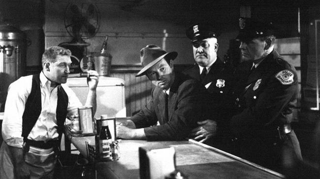 James Whitmore y Sterling Hayden en 'La jungla de asfalto'
