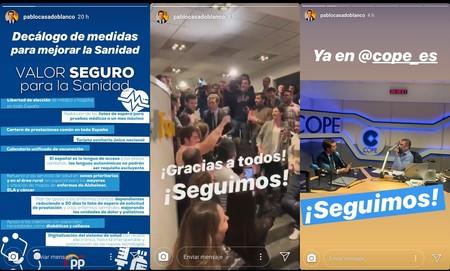 Pablo Casado Pp Historias Instagram