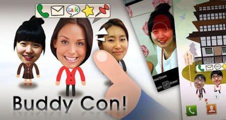 BuddyCon, convierte a tus contactos en avatares interactivos para tu fondo de pantalla