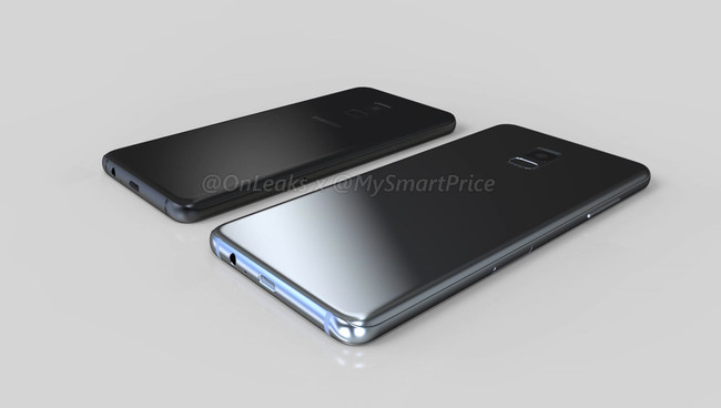 Samsung Galaxy™ A5 A7 2018 renders factible diseño