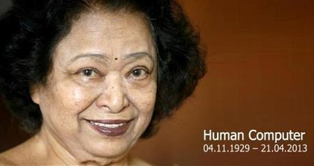 "Descanse en paz Shakuntala Devi ""La computadora humana"""