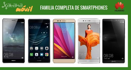 Así queda el catálogo de smartphones Huawei tras la llegada de los nuevos Huawei P9, P9 Plus y P9 Lite