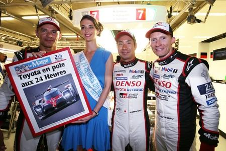 Kamui Kobayashi se marca una pole de récord en las 24 Horas de Le Mans para Toyota