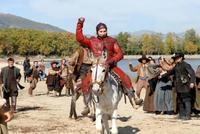 Jorge Lorenzo compitiendo en burro en 'Águila Roja'