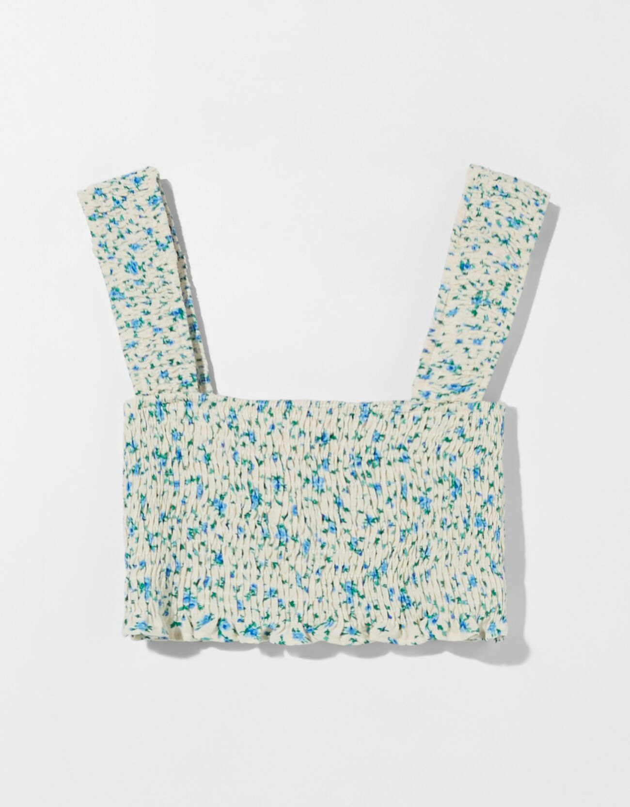 Cropped top floral.